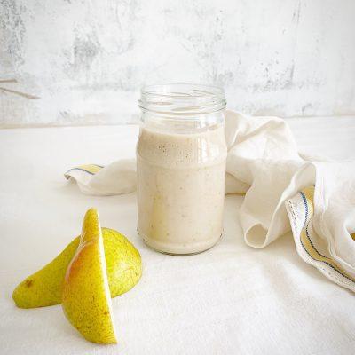 Smoothie crémeux poire, banane et gingembre
